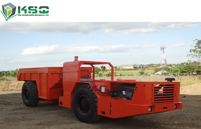 Hydraulic 12 Ton Underground Low Profile Dump Truck for Railway Tunneling